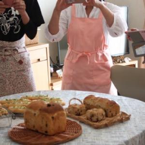 11月レッスン、3種のパンからスタート!