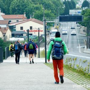 旅フォト:サンティアゴ・デ・コンポステーラ到着/サンティアゴ巡礼フランス人の道15
