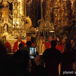 旅フォト:サンティアゴ・デ・コンポステーラ大聖堂とパラドール/サンティアゴ巡礼フランス人の道16