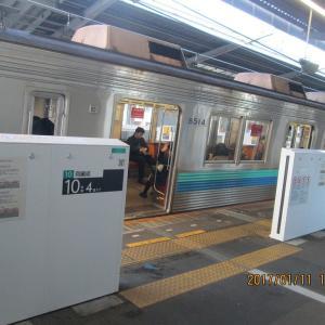 東急田園都市線宮前平駅 ホームドア