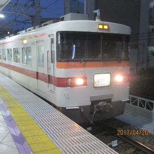 4月20日の東武スカイツリーライン風景