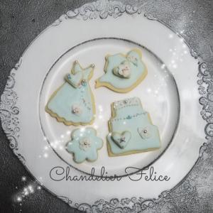 夏色のTea Partyアイシングクッキー