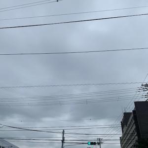 梅雨空に思うこと