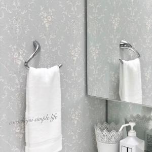 フェイスタオルは2枚だけ♪タオル収納と洗面室の仕上がりUPのコツ♡