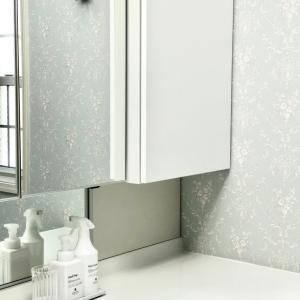 なんと!49円×3個で素敵♪ IKEAで洗面室のインテリア♡