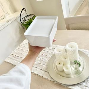 IKEAの新商品♪シンプルで便利なスタッキング収納♡