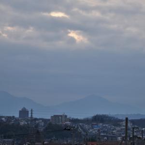 1月17日、平山陸橋からダイヤ撮れず・・・(T_T)