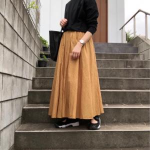 プチプラでも気に入った夏スカート