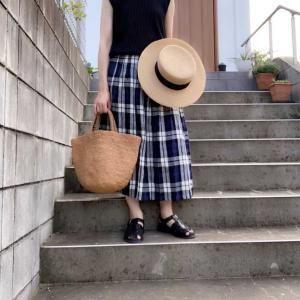 長く着ているオニールオブダブリンのリネンスカート