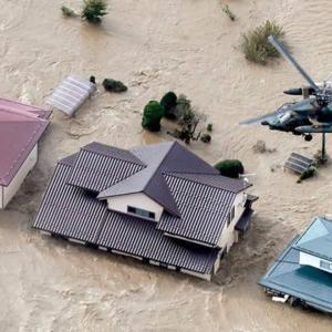 台風19号の痕跡!!損害の多くが計画的かつダムを放流したことによる人災だった。