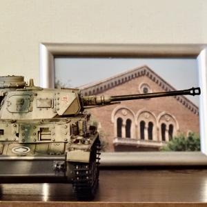 完成・ドラゴンIV号戦車D型増加装甲vorpanzer長砲身換装(妄想)型
