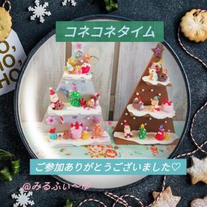 追記「Christmasオブジェ」ホワイト(*>∀<*)