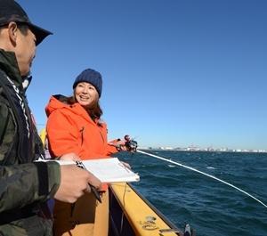 プロアングラーの児島玲子さんが引退発表しました。