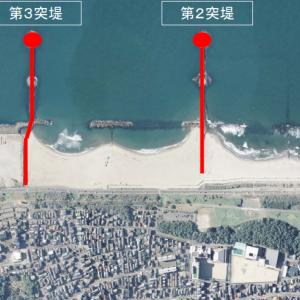 明日から日和山浜の第2突堤の立ち入り制限が解除されますよ。