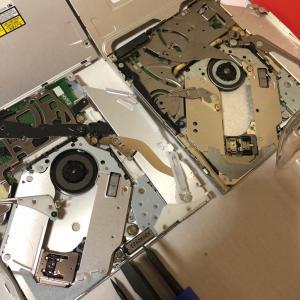 古~いMacBookProの光学ドライブを交換しました。