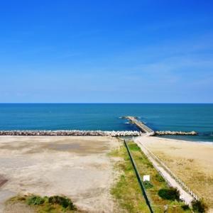 待望の解放、新潟市中央区の日和山浜の突堤が4月24日(土)から解放される予定です。