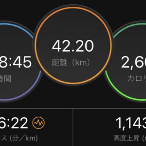 6月の六甲山の山頂をめぐるフルマラソン