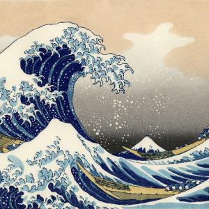 やはり買ってしまった「富嶽三十六景」の2枚の絵ハガキ              2014年の今日  6月25日に掲載