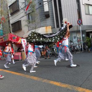 大阪九条で「茨住吉神社」の夏祭に出会った!           2013年の今日   7月24日に掲載
