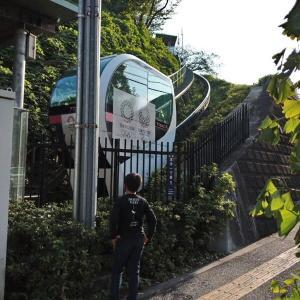 飛鳥山公園の区営ミニモノレール         新・都電荒川線シリーズその6
