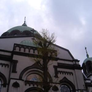 神田駿河台のニコライ堂。     2007年の今日 6月22日に掲載