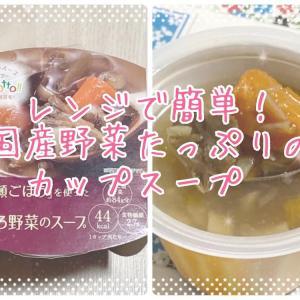 レンジで簡単!一流シェフが監修する、国産野菜たっぷりのカップスープ