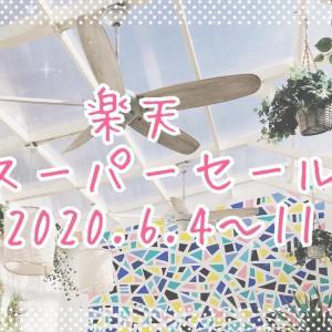 3ヶ月に1度の楽天スーパーセール(2020.6)〜ダイソン羽なし扇風機と夏用インナー