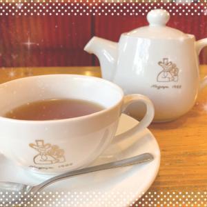 コメダ・お伊勢さんの和紅茶「瑞(みずき)」がおいしい!〜ポットでたっぷり楽しめます