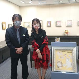 石井清子日本画展御礼