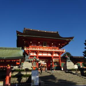 10/15 京都伏見稲荷様で 今の日本がわかる