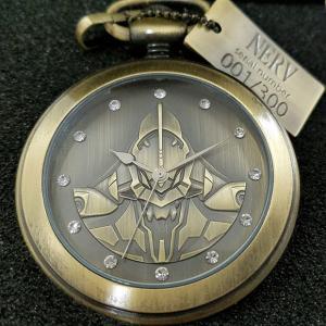エヴァンゲリオン「初号機」懐中時計 500個限定生産で予約販売開始