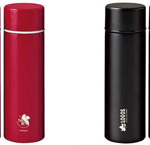 【EVA&LOGOS】エヴァのステンレスボトル「NERV野営装備品ポケットインボトル」が登場