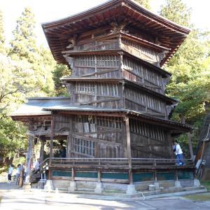福島旅行記(12)飯盛山2・さざえ堂と戸の口堰洞穴