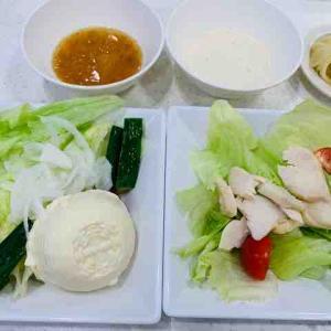 かっぱ寿司でサラダ2種