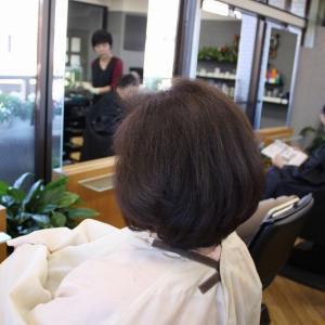 80代 くせ毛 軟毛 カラーダメージ毛で 毛先がパサついてお困り