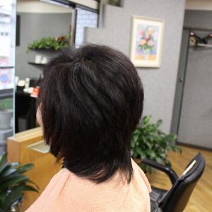 40代 縮毛矯正の髪が ほぼ取れてきました。