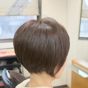 張りのある ゆるめくせ毛の方 2.5ヶ月たっても いい感じ