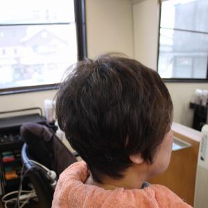 軟毛くせ毛の方の 乾かすだけの簡単スタイルに