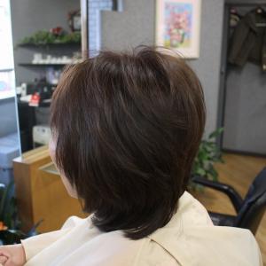 髪がペタッとしてお困り お手入れ簡単ふんわりスタイル