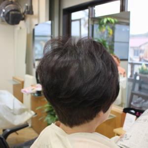 ミックスヘナで髪質改善中 軟毛くせ毛の方の ふんわり簡単スタイル