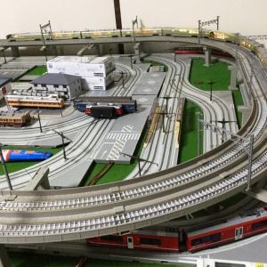 上大岡友人宅の鉄道模型レイアウト
