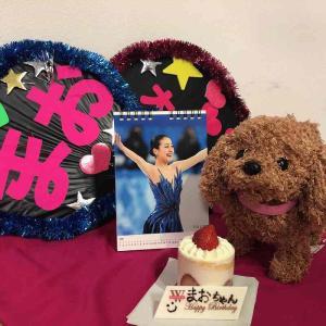 ■9月25日は、大好きな浅田真央さんのお誕生日でした。台風の季節生まれ、我慢強いんですね!