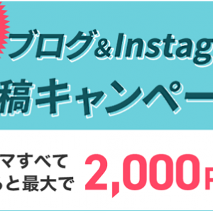GetMoney!「ブログ&SNS投稿キャンペーン」開催中!