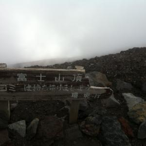 新型コロナウィルスの影響で富士山に登れない2020年
