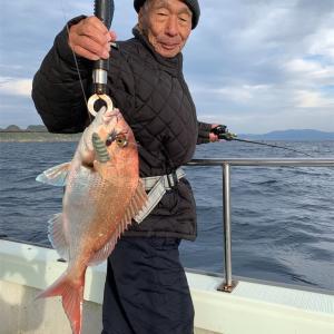 2019-12-05マタウ号の釣果