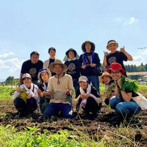 シードカフェ農園ツアー☘『なごみ農園』さん
