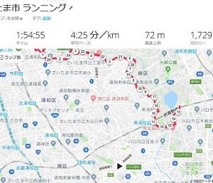 【さいたま国際】11週前のトレーニング(LT+持久力強化2)26K走、ファルトレク&ストライド
