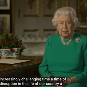 英国女王のスピーチ 'We will succeed'~Good Fridayに想う~
