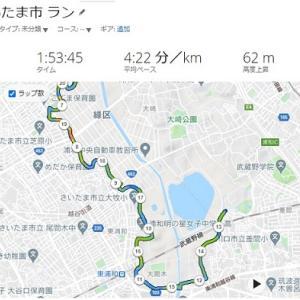 【Road to 奈良・平城京】4週前:業務優先のため小休止、26K走(w/昭和歌謡)