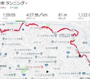 【さいたま国際マラソン】17週間前のトレーニング(持久力強化期2)ロング20km